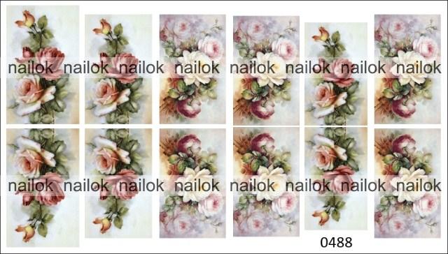 Слайдер-дизайн винтажный NailOK 0488